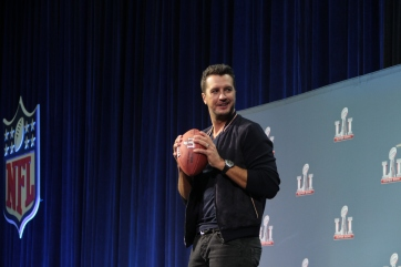 Luke Bryan, Superbowl 51 Halftime Show Press Conference
