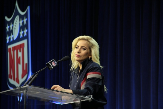 Lady Gaga, Superbowl 51 Halftime Show Press Conference